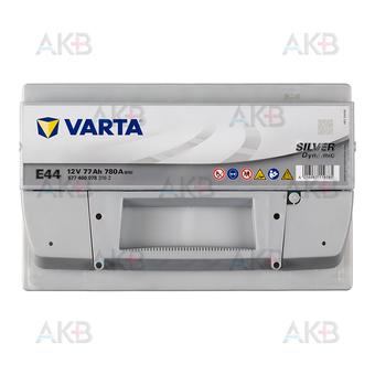Автомобильный аккумулятор Varta Silver Dynamic E44 77R 780A 278x175x190. Фото 1
