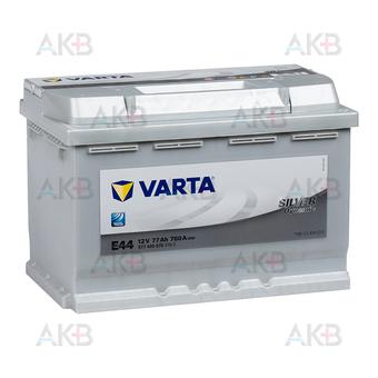 Автомобильный аккумулятор Varta Silver Dynamic E44 77R 780A 278x175x190